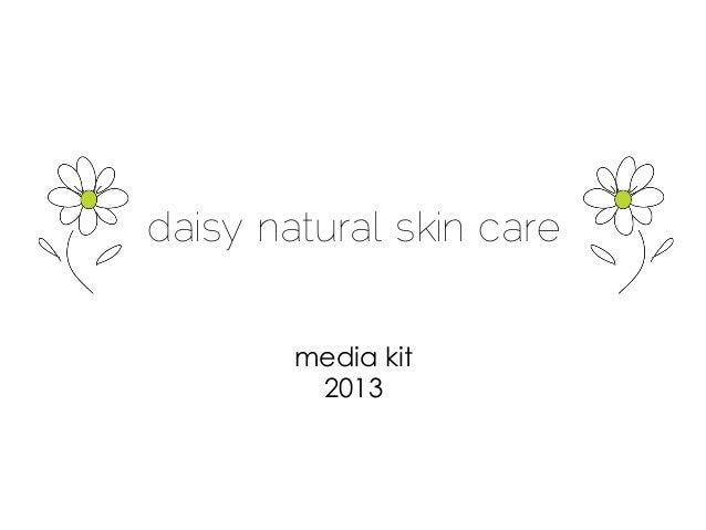 daisy natural skin caremedia kit2013