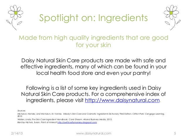 cosmetic ingredient dictionary and handbook