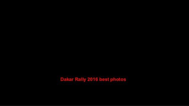 Dakar Rally 2016 best photos Slide 3