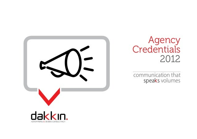 AgencyCredentials     2012communication that   speal s volumes