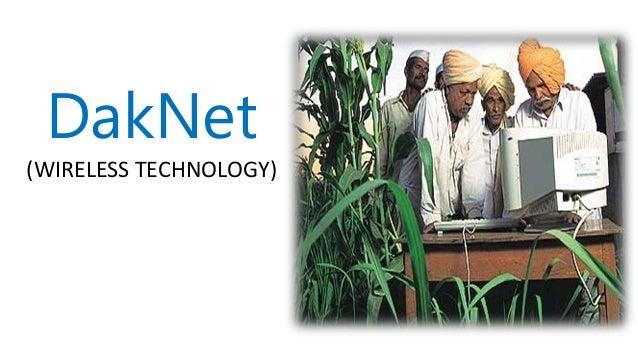 DakNet (WIRELESS TECHNOLOGY)