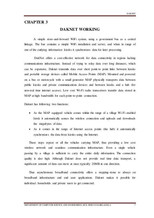 daknet documentation