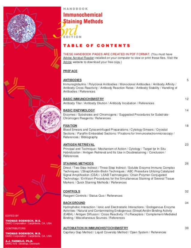 immunohistochemistry basics and methods pdf
