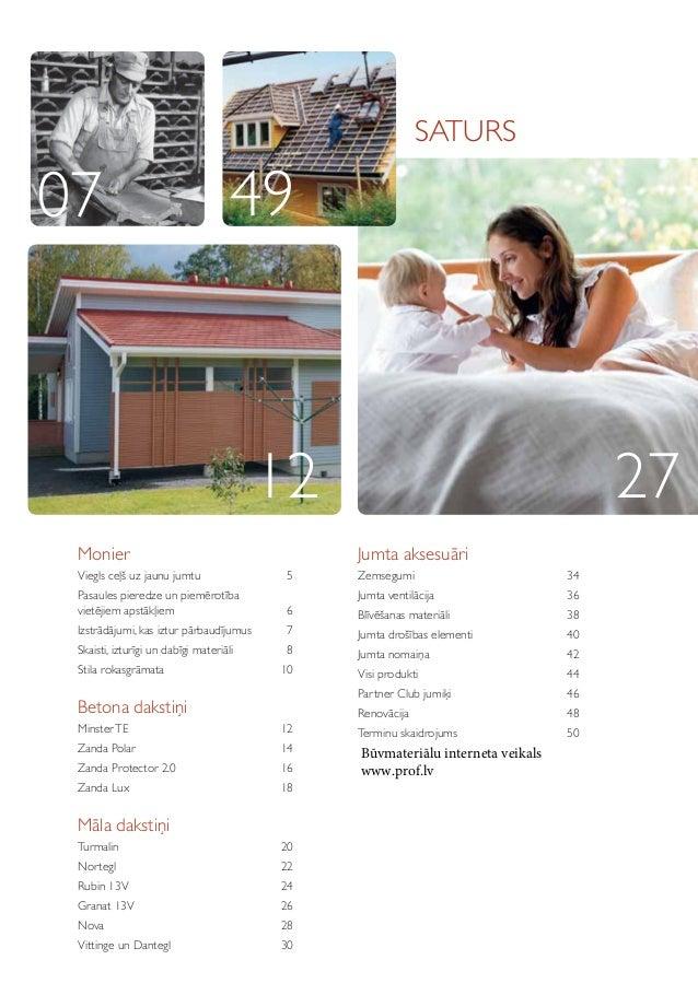 Dakstiņi Monier. Māla un Betona dakstiņi Monier. Monier Produktu katalogs 2013 Slide 3