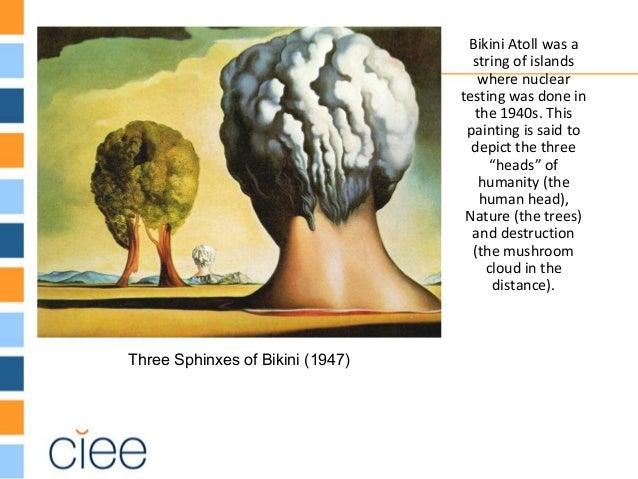 Dali three sphinxes of bikini