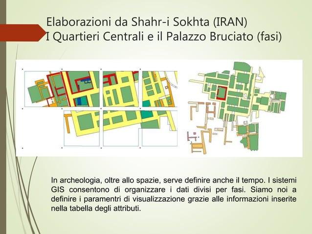 Elaborazioni da Shahr-i Sokhta (IRAN) I Quartieri Centrali e il Palazzo Bruciato (fasi) In archeologia, oltre allo spazie,...