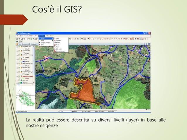 Cos'è il GIS? La realtà può essere descritta su diversi livelli (layer) in base alle nostre esigenze