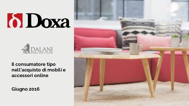 Elegant il consumatore tipo di mobili e accessori online for Mobili acquisto on line
