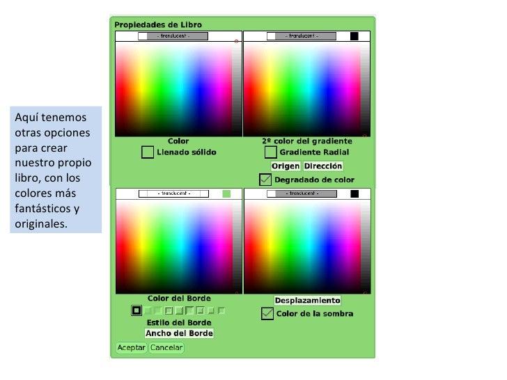 Dale color a tu libro digital en etoys