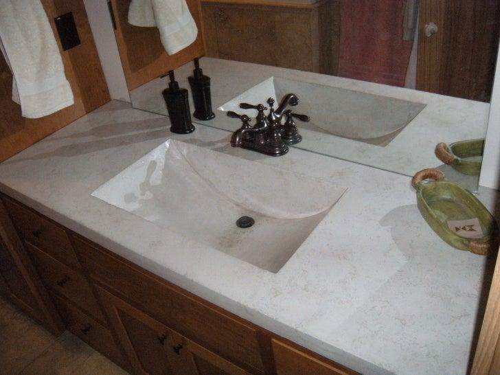 U003culu003eu003cliu003eBathroom Vanity With Integral Concrete Sink Bowl.