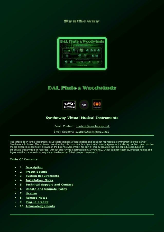 DAL Flute & Woodwinds VST VST3 Audio Unit: Virtual Flute, Oboe, Clari…
