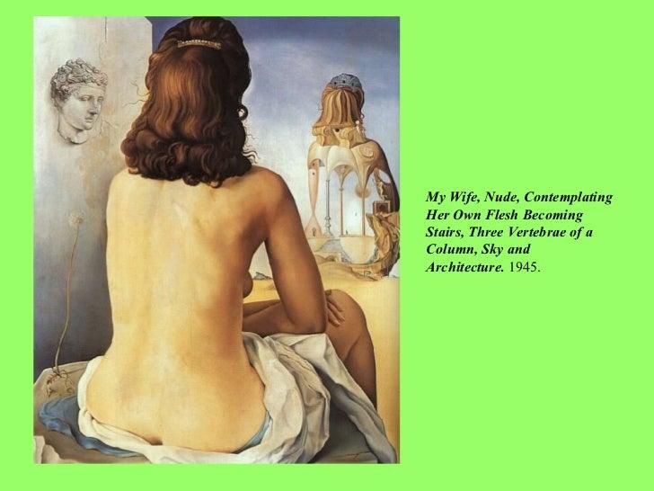 Dali wife nude