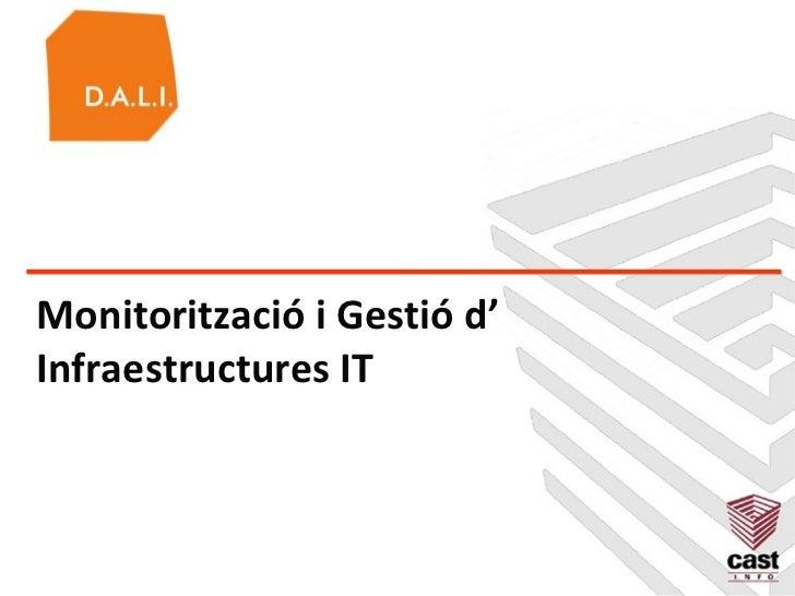 Monitorització i Gestió d'Infraestructures IT