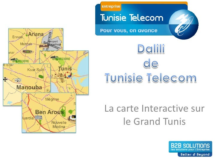 La carte Interactive sur     le Grand Tunis