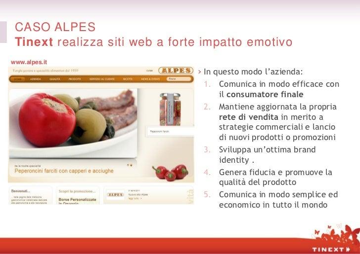 CASO ALPES Tinext realizza siti web a forte impatto emotivowww.alpes.it                                › In questo modo l'...