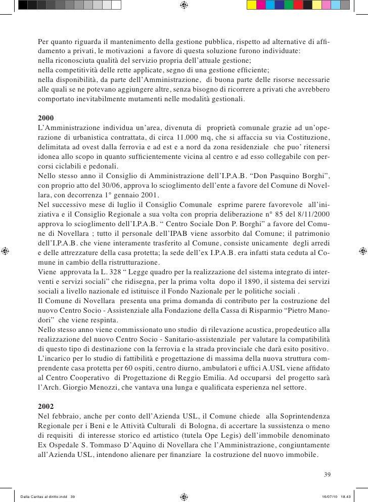 Dalla caritas al diritto di sergio ciroldi - Diritto di abitazione durata ...