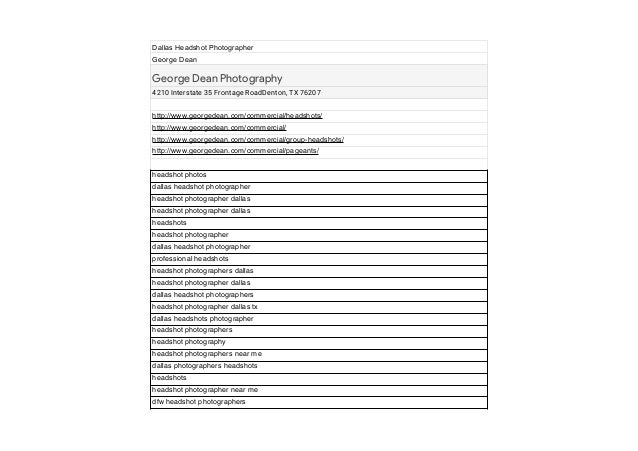 Dallas headshot photographer keywords dallas headshot