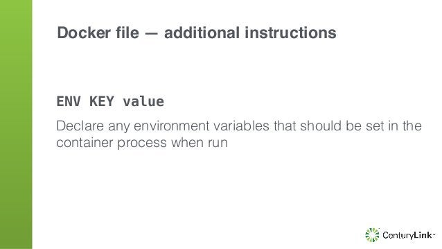 "VOLUME /var/foo VOLUME [""/var/foo"", ""/var/bar""] creates a mount point for volumes from host or other containers Docker file..."