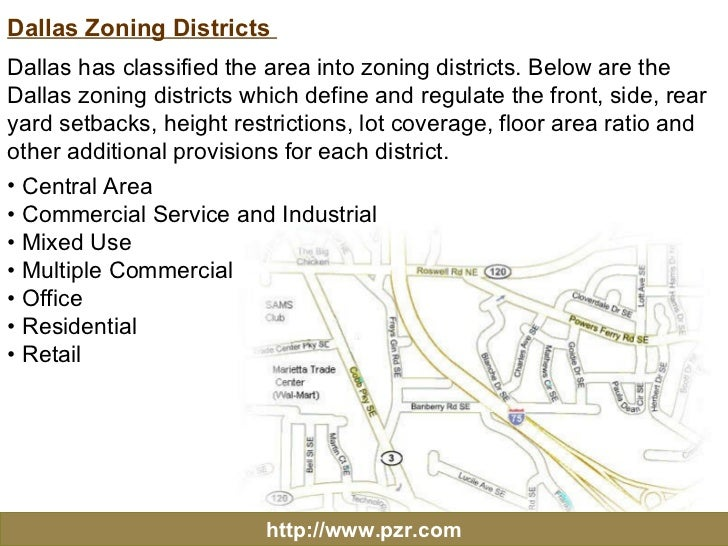 Dallas Texas Zoning Regulations And Services