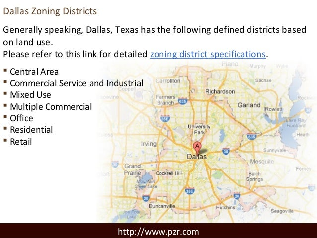 Dallas Zoning, Land Use and Sustainable Development