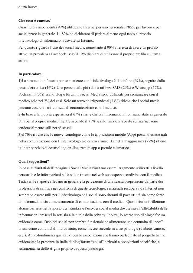 Dalle App di servizio alle App di relazione: come cambia il rapporto medico-paziente Slide 3
