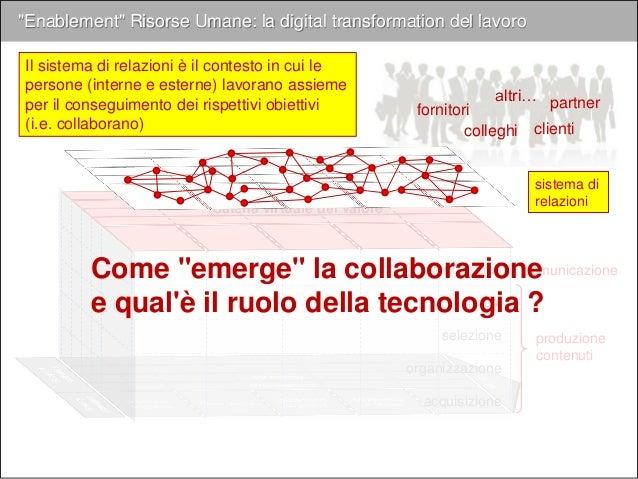 """Come """"emerge"""" la collaborazione: 3. Strumenti"""