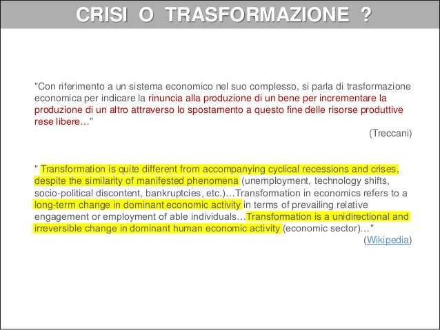 """La digital transformation come progetto: definizioni """"the realignment of, or new investment in, technology and business mo..."""