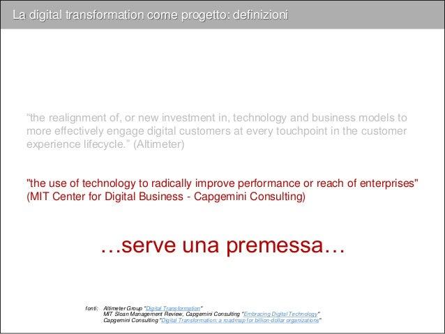 …una visione d'insieme di come l'azienda interagisce con il cliente…