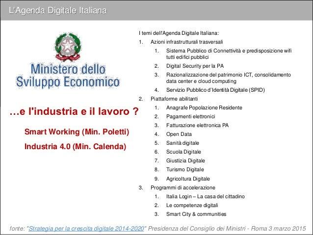 """Un'agenda per lo sviluppo dell'Industria 4.0 fonte: Roland Berger """"Joint-Production 4.0 Nuove sfide per la cooperazione ec..."""