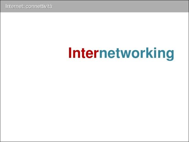 Internet Internet: connettività 1995 uso comm.le Internet 2014 www www 2000 ADSL 2001 GPRS / 3G 2003 WIFI 802.11g HOME LAN
