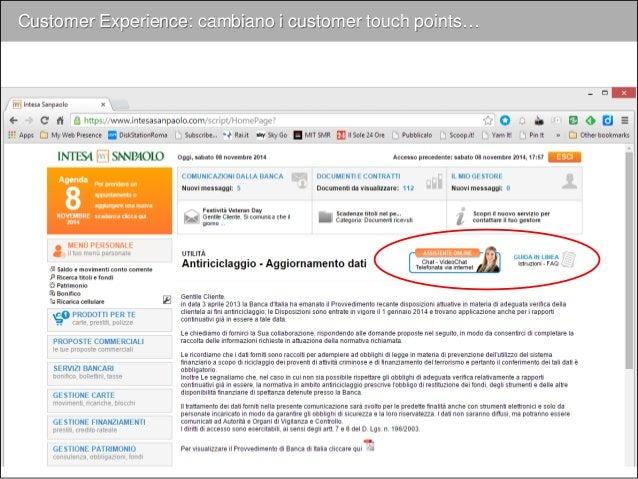 Customer Experience: cambia la customer journey… coerenza integrazione