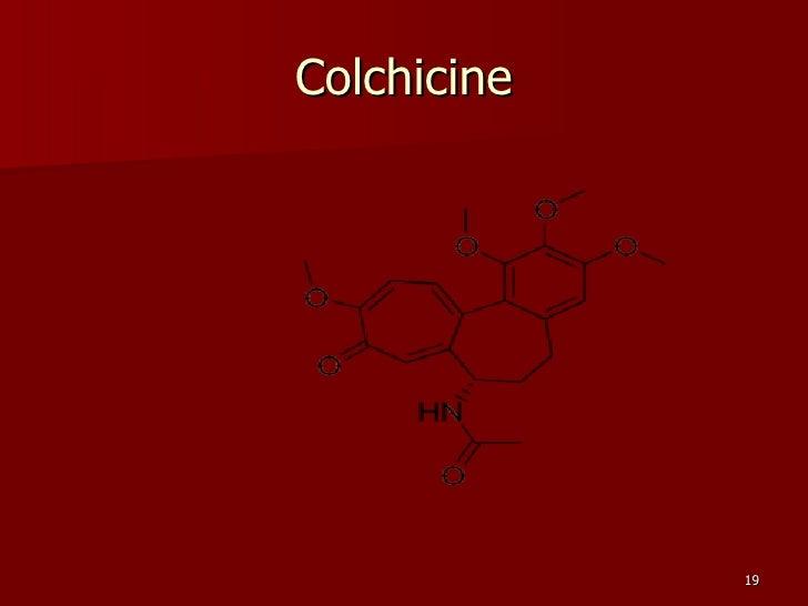 Probenecid And Colchicine