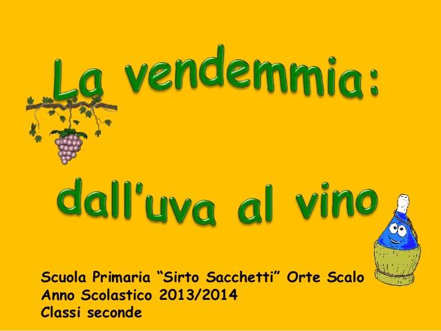 Popolare Dall'uva al vino per sito scuola JY59