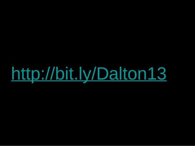 http://bit.ly/Dalton13