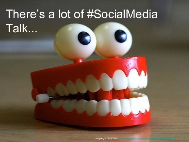There's a lot of #SocialMediaTalk...                 Image c/o CRUSTINA! http://www.flickr.com/photos/crustina/3196036316/