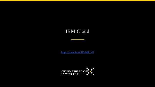 IBM Cloud https://youtu.be/oCIZybdR_Y8