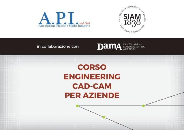 CORSO ENGINEERING CAD-CAM PER AZIENDE in collaborazione con