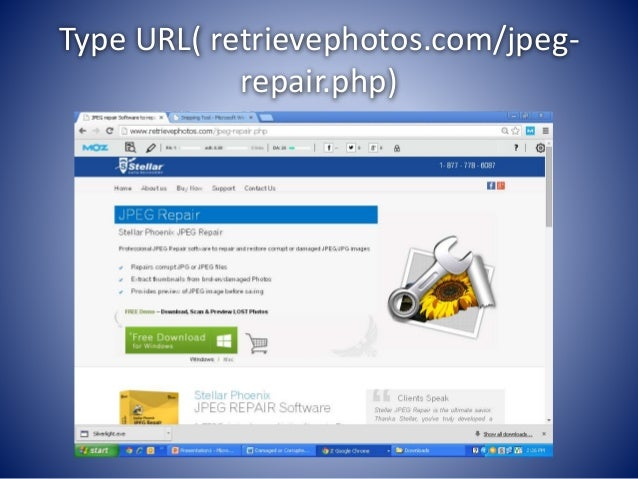 How To Repair damaged jpeg