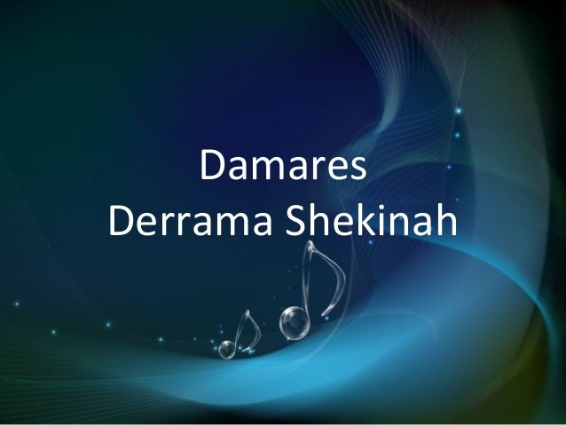 Damares Derrama Shekinah