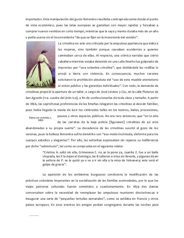 Damas del guano; Género y modernidad en Lima 1850-1879 - Texto comple…