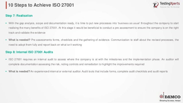Damco iso 27001