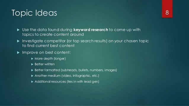 content strategy and seo melbourne hubspot user group presentation topic ideas