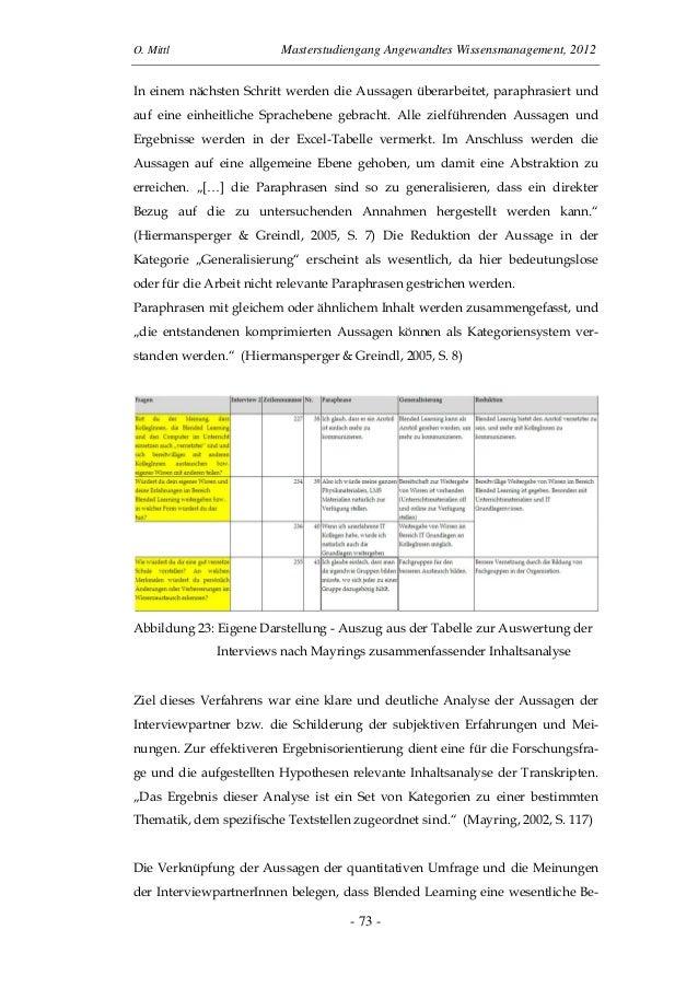 Blended Learning als Chance der Wissensver-mittlung und Verbesserung kollaborativer  Zusammenarbeit von LehrerInnen (Mittl...