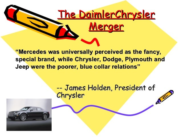 daimler chrysler seeks a new image case study The main issue raised by the case study is  there is little evidence in the case that the new model  table 3 show daimler chrysler have a high.
