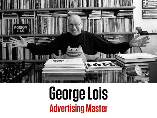 GeorgeLois AdvertisingMaster