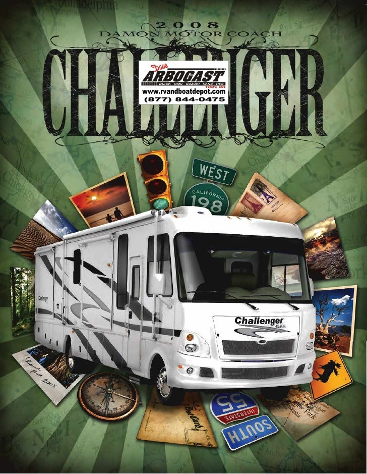 2008 Damon Challenger Brochure Ohio on