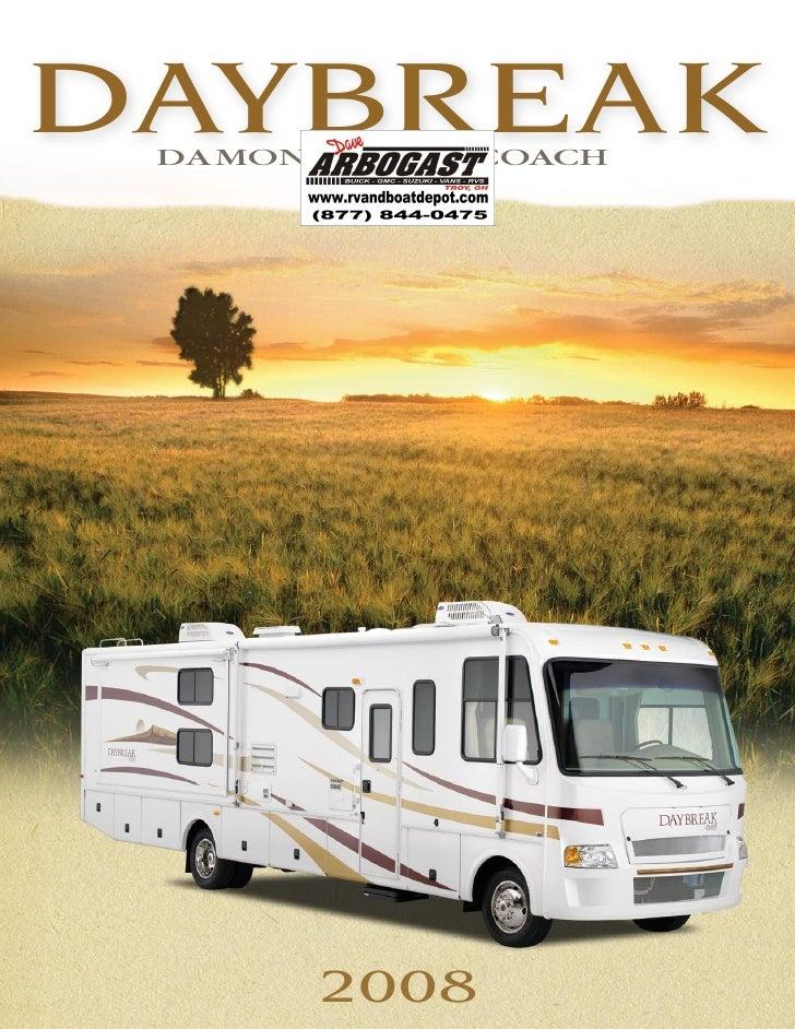 2008 Damon Daybreak Brochure Ohio