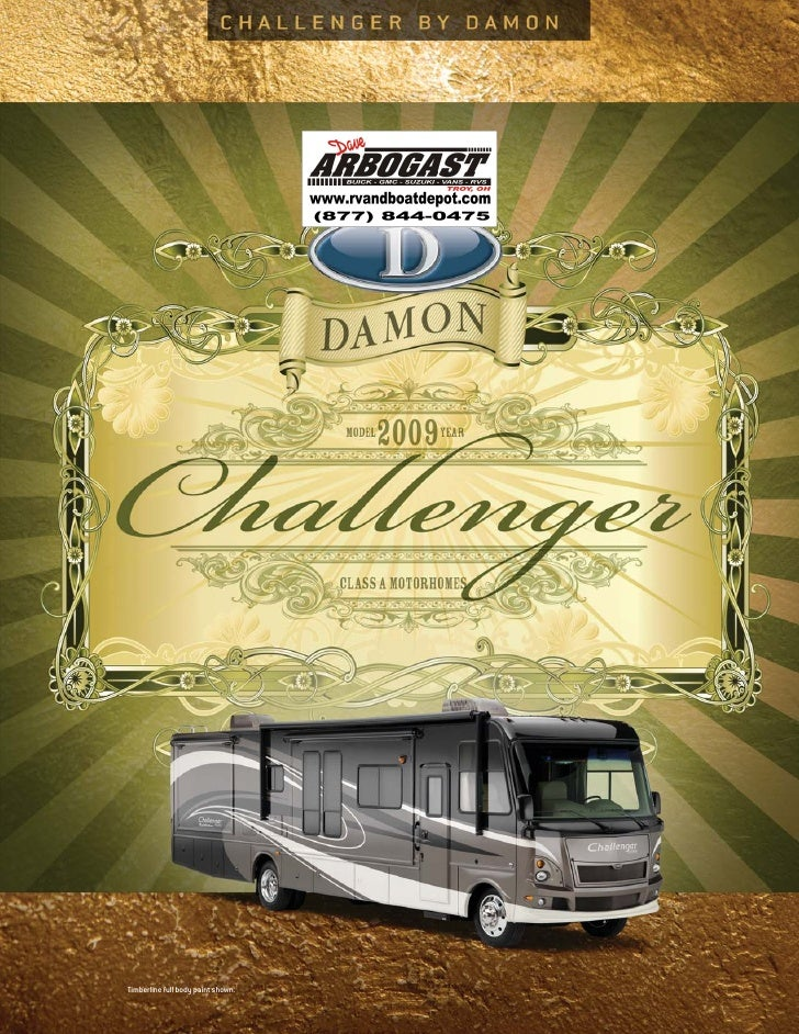 2009 Damon Challenger Brochure Ohio on
