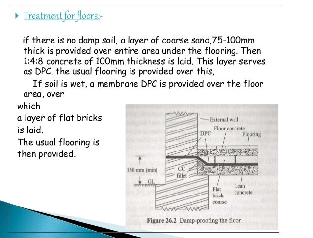Damp Proof Membrane Thickness : Damp proofing course archna