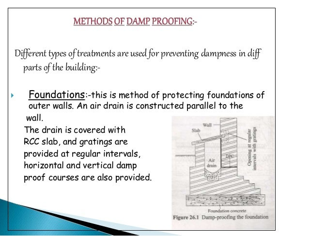 Damp proofing course archna